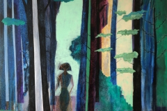 La dame au forêt